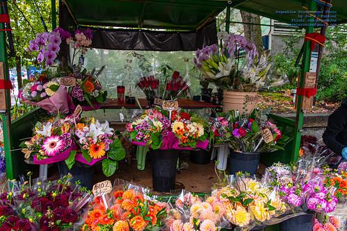 Flower Shop at Burrard Station