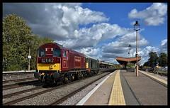 20142/20007 (Lewis_Hurley) Tags: 20 class20 20142 20007 choppers lightengine 0z20 leamingtonspa station train railway diesel chilternmainline warwickshire uk england londontransport
