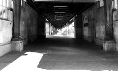 should I stay or should I go (Renate R) Tags: bülowstrase berlin blackwhite shouldistayorshouldigo u2 clash ubahnstationbülowstrase station