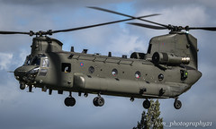 Chinook Refuel (hjm_photography21) Tags: camera red atc airport aircraft aviation air aeroplane barton airlines airliner airfield aerobatics airtraffic life england training work canon manchester photography flying nikon photographer ride photos outdoor sony transport engine sigma cockpit panasonic riding planes vehicle boeing helicopters chinook salford runway pilot fuel raf jumbo refuel heliport hangars jeta1 planeporn