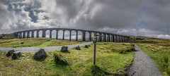 ribblehead viaduct panoramic (Glen Parry Photography) Tags: battymoss glenparryphotography landscape country d7000 dales hiking moor moorland nikon nikonphotographer nikonphotography nokia northyorkshire outdoors panoramic railwaybridge ribbleheadviaduct sigma sigma1020mm uk uklandscape viaduct walking yorkshiredales
