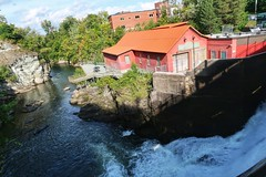 The Oldest Hydro Plant in Quebec along the Magog River in Sherbrooke (Bobcatnorth) Tags: sherbrooke quebec easterntownships canada september 2019