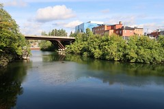 Magog River in Sherbrooke (Bobcatnorth) Tags: sherbrooke quebec easterntownships canada september 2019