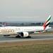 Emirates Airline A6-EBF Boeing 777-31HER cn/32708-536 wfu 05 Mar 2019 reg VQ-BGL Royal Flight 02 May 2019 @ LTBA / IST 25-11-2018