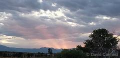 September 10, 2019 - Sunset at McKay Lake. (David Canfield)