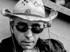Lonesome Cowboy (Alain Dardenne Photographe) Tags: alaindardennephotography alaindardenne alaindardennephotographer olympus omd em1 christophe train cowboy chapeau 45mm
