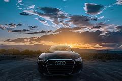 Las Vegas Sunsets (Jose Posada) Tags: 1635gm alpha sonyshooters lasvegasnv cloudscape sunset audi