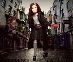 Float like a butterfly, scream like a banshee (Bratzjaderox™) Tags: ginny weasley mattel harry potter doll barbie icon legend wizard witch universal studios magical diagon alley fantasy hogwarts diva