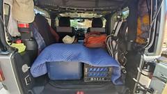 Road Trip! (W9JIM) Tags: w9jim jeep wrangler roadtrip campinggear flickrnotes gearlist jeepinterior