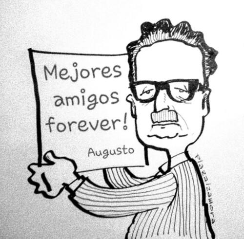 Caricatura Allende Golpe De Estado Pinochet Dictadura Humor Grafico Chile A Photo On Flickriver