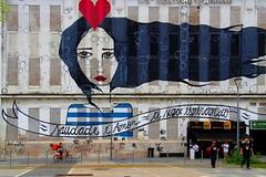 """""""Amor é saudade - Te sigo esperando"""" par Rita WAINER (Edgard.V) Tags: rio de janeiro brasil brasile brésil brazil rj street art urban arte urbano callejero mural graffiti graf pier maua love alour amore amor saudade marin marinheiro marinaro sailorman longing female femme femina mulher"""