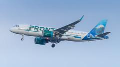 N311FR (gankp) Tags: washingtondullesinternationalairport arrivals airbus n311fr orlando mco