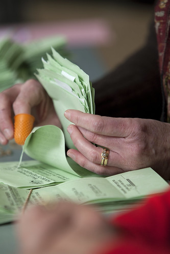 hand-counted paper ballots yield the most accurate results ...