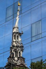 NYC reflection (Oleg S .) Tags: reflection usa newyorkcity architecture church newyork nyc
