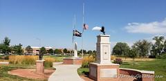 September 11, 2019 - Patriot Day at the Thornton Veterans Memorial. (ThorntonWeather.com)