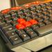 Deltaco Gaming Tastatur mit rot-markierten Tasten