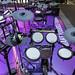 Digitales Drum Kit von Yamaha: DTX582K Schlagzeug mit echtem Fell bezogen, Sample-Speicher und 3-Zonen XP80 Snare-Pad