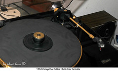 Dual Golden 1 Turntable (Island Lures) Tags: dual beltdrive turntable golden1
