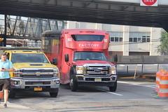IMG_8049 (GojiMet86) Tags: corporate express dts worldwide transportation nyc new jersey york city bus buses jitney 2016 glaval entourage 993 b976 21st street 50th avenue 1fdgf5gy3gec06993