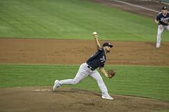 The Aces Pitch (dcnelson1898) Tags: westsacramento california yolocounty sacramentorivercats renoaces aaabaseball minorleaguebaseball sanfranciscogiants arizonadiamondbacks sports baseball nightgame raleyfield