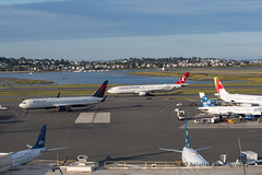 KBOS_SEP2019_DAL_B763_N174DZ_THY_A333_TC-JOL_A (BD78Photos) Tags: kbos bostonloganinternationalairport bos deltaairlines dal boeing 767 767300 b763 turkishairlines thy airbus a330 a330300 a333