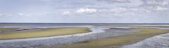 Delaware Bay (jessicalowell20) Tags: capemay delawarebay altanticocean bay birds blue clouds lowtide newjersey ocean rocks sandbars september sky slacktide summer tan tide water white