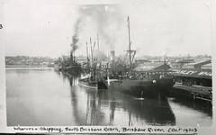 Brisbane Wharves and Shipping South Brisbane Reach