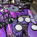 Yamaha DTX582K E-Drum Set with real fur, sample memory and 3-zone XP80 snare pad