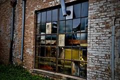 Hot Mess - Geneva IL (Meridith112) Tags: geneva 2019 august summer window old brickwall brick broken midwest kanecounty reflection reflections wall nikon nikon2485 nikond610