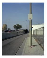 Time and space in Compton (ADMurr) Tags: la southla compton alameda corridor road sign time mamiya 7 80mm rangefinder kodak ektar 6x7 fullframe dba1041