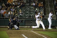 The Swing (dcnelson1898) Tags: westsacramento california yolocounty sacramentorivercats renoaces aaabaseball minorleaguebaseball sanfranciscogiants arizonadiamondbacks sports baseball nightgame raleyfield