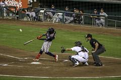 The Pop Up (dcnelson1898) Tags: westsacramento california yolocounty sacramentorivercats renoaces aaabaseball minorleaguebaseball sanfranciscogiants arizonadiamondbacks sports baseball nightgame raleyfield
