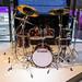 Rotes Schlagzeug, komplett, von Yamaha