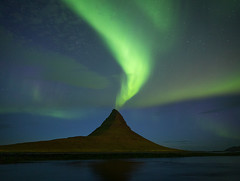 The Lighthouse (Hilton Chen) Tags: iceland kirkjufell snaefellsnespeninsula auroraborealis landscape nightphotography northernlights summer