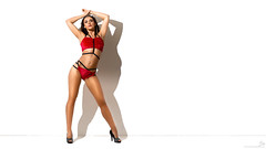 Red (OwenLloyd) Tags: jg bexh fitness glamour studio red dance