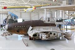 Ilyushin Il-2M-3 Balaton lake Sturmovik (srkirad) Tags: airplane aircraft attack fighter sturmovik il2m3 ilyushin wreckage rust ww2 propeller prop aviationmuseum aviation museum reptar szolnok hungary russian travel cockpit