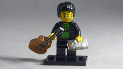 Brick Yourself Custom Lego Minifigure - Musician Gamer