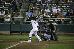Ready for the Pitch (dcnelson1898) Tags: westsacramento california yolocounty sacramentorivercats renoaces aaabaseball minorleaguebaseball sanfranciscogiants arizonadiamondbacks sports baseball nightgame raleyfield