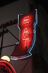 EAT (i saw the Sign) Tags: texastavern eat neon sign signage glow afterdark roanoke virginia va