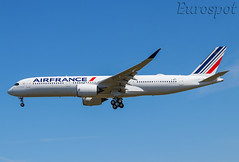 F-WZFN Airbus A350 Air France (@Eurospot) Tags: fwzfn fhtya airbus a350 toulouse blagnac airfrance