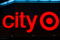 former city Target (ezeiza) Tags: california ca sanfrancisco san francisco downtown urban center citytarget city target targetstores store retail building neon sign bullseye logo night metreon