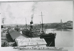 Brisbane Wharves and Shipping