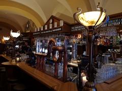 Blå Dörren (Explored) (skumroffe) Tags: blådörren restaurant restaurang krog ölhall bierhalle bar lamps lampor beertap beertaps ölkranar ölkran södermalmstorg slussen stockholm sweden explore explored