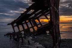 Wreck of the Peter Iredale (Jeff Sullivan (www.JeffSullivanPhotography.com)) Tags: boat rust decay abandoned photography travel september 1735mm nikkor d850 nikon 2019 beach oregon seascape sunset oregoncoast shipwreck