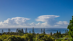 Clouds over the sea (Peter.Stokes) Tags: colour nature landscape outdoors photography photo australian australia sky cloud clouds skyscenes