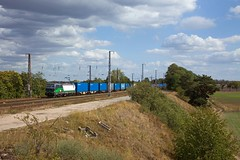 ELL 193 733 + Güterzug/goederentrein/freight train Frankfurt (Oder) - Hamburg  - Saarmund (Rene_Potsdam) Tags: ell vectron br193 brandenburg saarmund railroad treinen trains trenes treni züge spoorwegen europa europe
