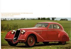 1938 Alfa Romeo 8C-2900B Berlinetta (aldenjewell) Tags: 1938 alfa romeo 8c2900b berlinetta coachwork touring carrozzeria auction catalog