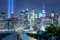 Tribute in Light, 2019 (Unlimitеd) Tags: canon eos 5dmk4 tribute tributeinlight light longexposure outside outdoor lowlight 911 memorial historic urban newyork newyorkcity brooklyn manhattan brooklynbridepark