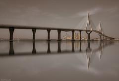 El puente (ricardocarmonafdez) Tags: puente bridge cádiz puentedelaconstituciónde1812 puentedelapepa luces sombras lights shadows sunlight soft blur edition processing imagination reflejos reflections nikon d850 24120f4gvr ricardocarmonafdez ricardojcf