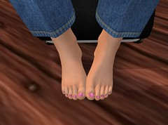 Femboy Feet 2 (LorenWinstead In SL) Tags: secondlife slfeet foot fotfetish toes soles femboy feminine girlie crossdresser crossdressing boyfeet